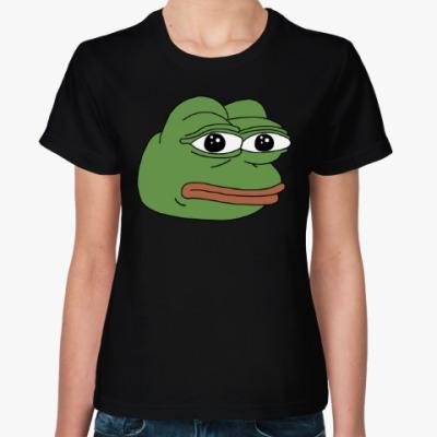Женская футболка Лягушонок Пепе PEPE