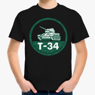 Детская футболка Танк Т-34
