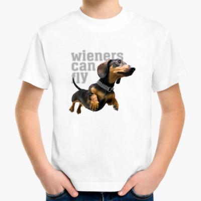 Детская футболка Wieners Can Fly