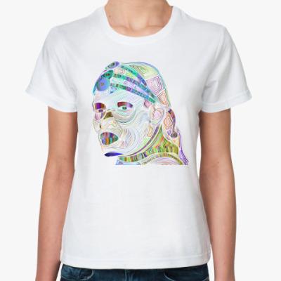 Классическая футболка Белая масаи