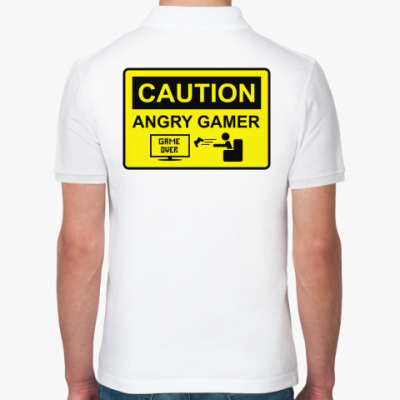 Рубашка поло Angry Gamer