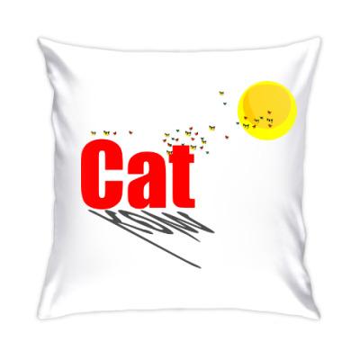 Подушка Перелётные коты