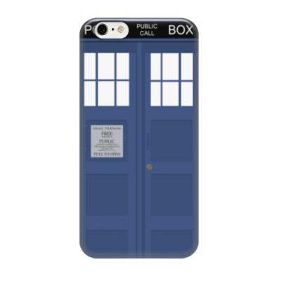 Чехол для iPhone 6/6s Tardis (Тардис)