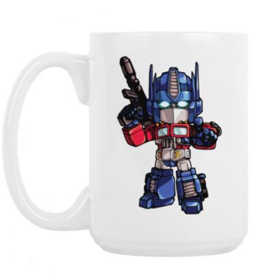 Кружка Optimus Prime