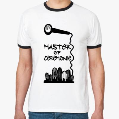 Футболка Ringer-T Master of ceremonie