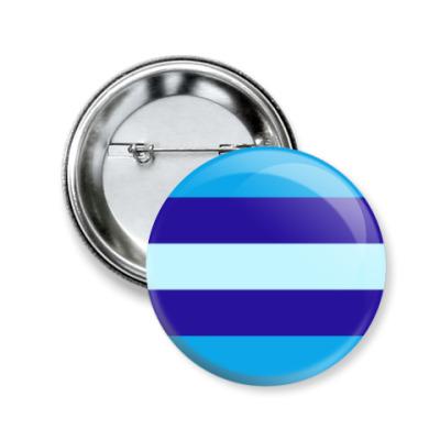 Значок 50мм Транс*мужчина/транс*парень
