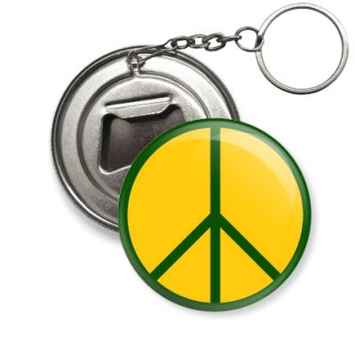 Брелок-открывашка Мир