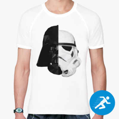Спортивная футболка Star Wars: Вейдер и Штурмовик