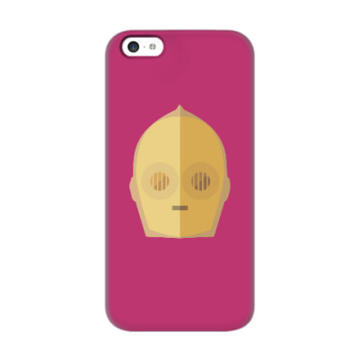 Чехол для iPhone 5c Star Wars: C-3PO