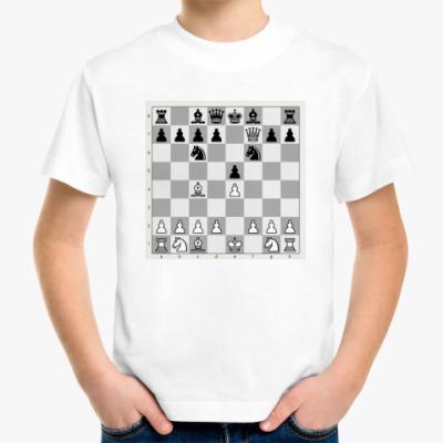 Детская футболка Детская футболка шахматы мат