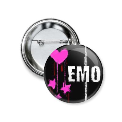 Значок 37мм Емо