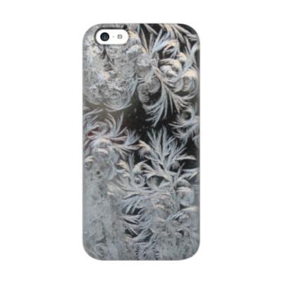 Чехол для iPhone 5c морозный узор