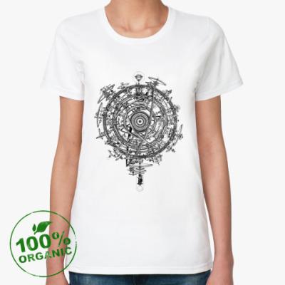 Женская футболка из органик-хлопка Inside