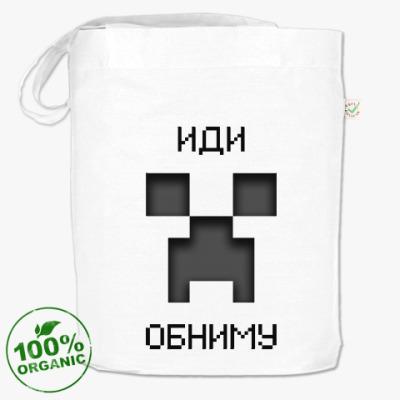 Сумка Иди Обниму Minecraft Creeper