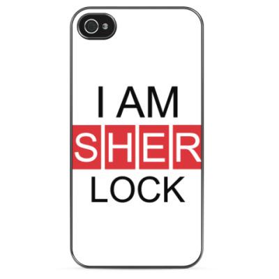 Чехол для iPhone Шерлок Холмс