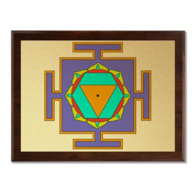 Плакетка Бала-Шакти-янтра