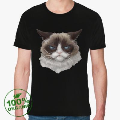 Футболка из органик-хлопка Grumpy Cat / Сердитый Кот