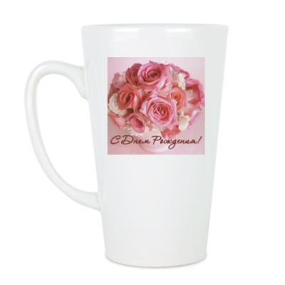 Чашка Латте Розы.