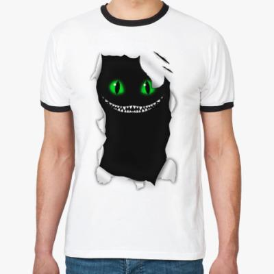 Футболка Ringer-T Чеширский кот