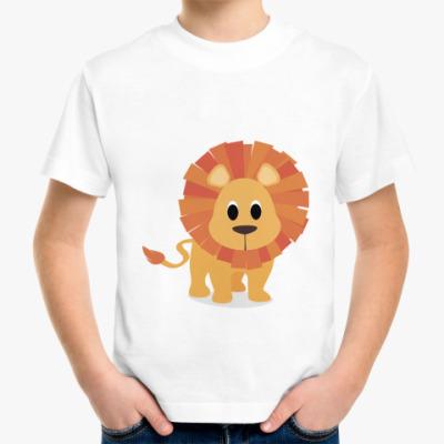 Детская футболка Baby lion