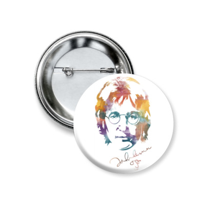 Значок 37мм The Beatles - John Lennon