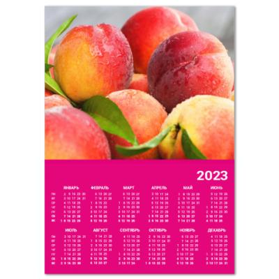 Календарь Персики