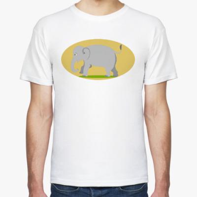 Футболка Слоненок на прогулке