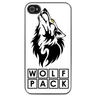 Чехол для iPhone WolfPack