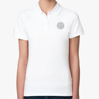 Женская рубашка поло Skyrim. Гильдия магов.