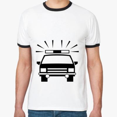 Футболка Ringer-T Машина
