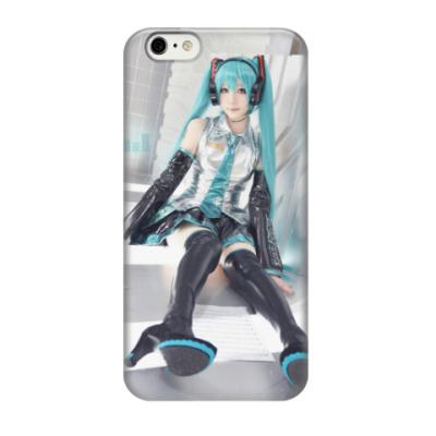 Чехол для iPhone 6/6s Miku Hatsune