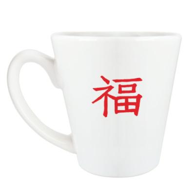 Чашка Латте Иероглиф