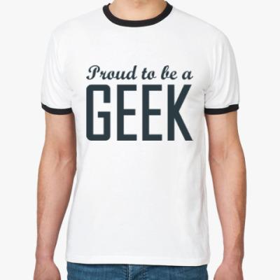 Футболка Ringer-T Geek