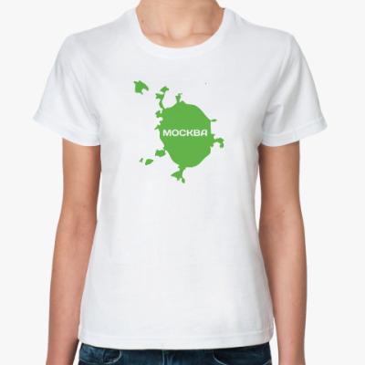 Классическая футболка Москва