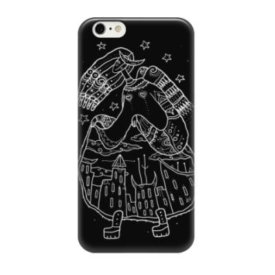 Чехол для iPhone 6 Девица-небо задирает юбку