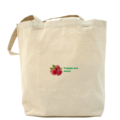Сумка Vegans (raspberries)