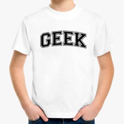 Детская футболка Geek