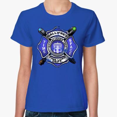 Женская футболка Галлифрей