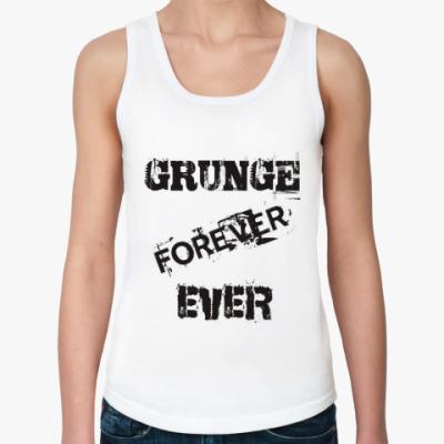 Женская майка Grunge forever