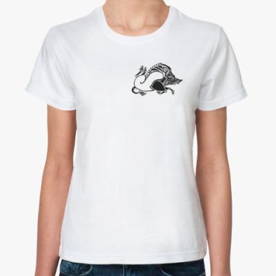 Классическая футболка Скифский кабан