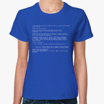 Женская футболка BSoD