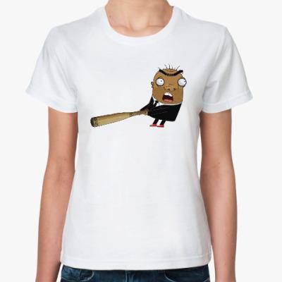 Классическая футболка Шамиль с битой