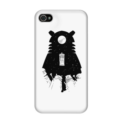 Чехол для iPhone 4/4s Доктор Кто