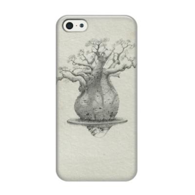 Чехол для iPhone 5/5s Баобаб