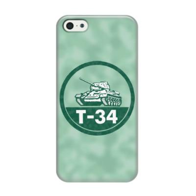 Чехол для iPhone 5/5s Танк Т-34