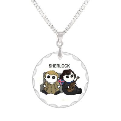 Кулон Sherlock
