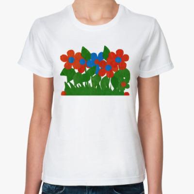Классическая футболка Цветочный луг