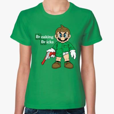 Женская футболка Марио Хайзенберг