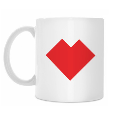 Кружка Сердце танграм