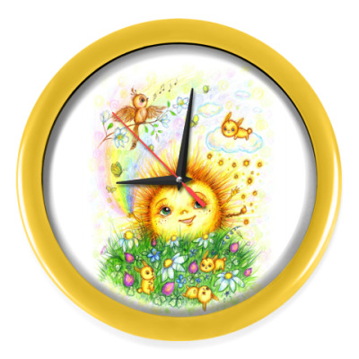 Настенные часы Солнышко моё!